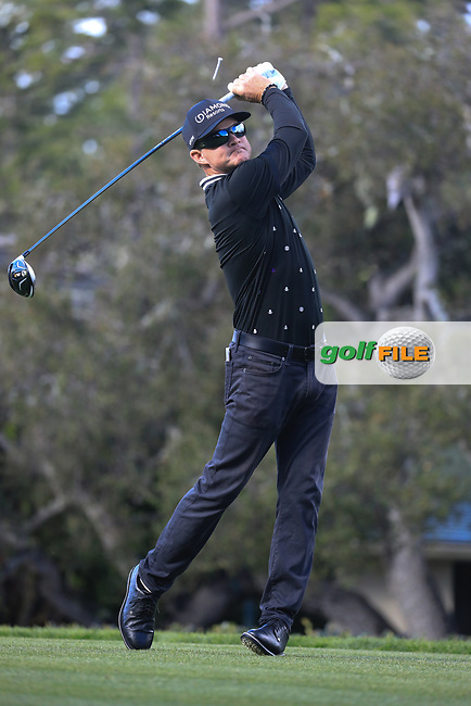 Brian Gay (USA) during the final round of the AT&T Pro-Am, Pebble Beach Golf Links, Monterey, USA. 10/02/2019<br /> Picture: Golffile | Phil Inglis<br /> <br /> <br /> All photo usage must carry mandatory copyright credit (© Golffile | Phil Inglis)