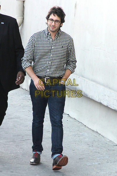 HOLLYWOOD, CA - JUNE 17: Josh Groban seen at Jimmy Kimmel Live in Hollywood, California on June 17, 2014. <br /> CAP/MPI/mpi86<br /> &copy;mpi86/MediaPunch/Capital Pictures