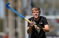 Sam Lane during the Olympic Qualifier Hockey match between the Blacksticks Men and Korea at TET Multisport Centre in Stratford, New Zealand on Saturday, 2 November 2019. Photo: Simon Watts / www.bwmedia.co.nz