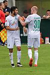 13.07.2019, Parkstadion, Zell am Ziller, AUT, FSP, Werder Bremen vs. Darmstadt 98<br /> <br /> im Bild / picture shows <br /> Nuri Sahin (Werder Bremen #17)<br /> Davy Klaassen (Werder Bremen #30)<br /> Verletzung / verletzt / Schmerzen<br /> <br /> <br /> <br /> Foto © nordphoto / Kokenge