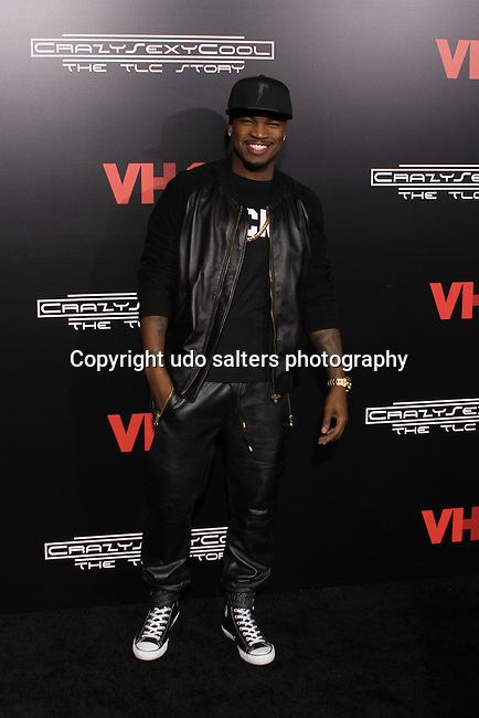 "Ne-Yo Attends VH1 Original Movie ""CrazySexyCool: The TLC Story"" Red Carpet Premiere Held at AMC Loews Lincoln Square, NY"