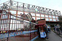 General View of Aston Villa's, Villa Park Stadium before the match against Wolverhampton Wanderers.<br /> <br /> Photographer Leila Coker/CameraSport<br /> <br /> The EFL Sky Bet Championship - Aston Villa v Wolverhampton Wanderers - Saturday 10th March 2018 - Villa Park - Birmingham<br /> <br /> World Copyright &copy; 2018 CameraSport. All rights reserved. 43 Linden Ave. Countesthorpe. Leicester. England. LE8 5PG - Tel: +44 (0) 116 277 4147 - admin@camerasport.com - www.camerasport.com