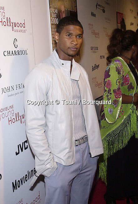 "Usher Raymond arriving at the 3rd Movieline Magazine Young Hollywood Awards at the House of Blue  "" in Los Angeles  4/29/2001  © Tsuni          -            RaymondUsher03.jpg"