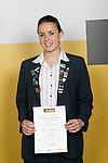 Girls Water Polo winner Lauren Sieprath. ASB College Sport Young Sportperson of the Year Awards 2007 held at Eden Park on November 15th, 2007.