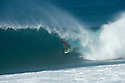Tom Whitaker (AUS) during the Billabong Pipeline Masters at Backdoor on the Northshore of Oahu in Hawaii.