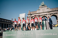 Team Lotto-Soudal at the team presentation <br /> <br /> 98th Brussels Cycling Classic 2018<br /> One Day Race:  Brussels > Brussels (201km)