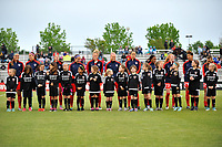 Boyds, MD - Saturday May 6, 2017: Washington Spirit prior to a regular season National Women's Soccer League (NWSL) match between the Washington Spirit and Sky Blue FC at Maureen Hendricks Field, Maryland SoccerPlex.