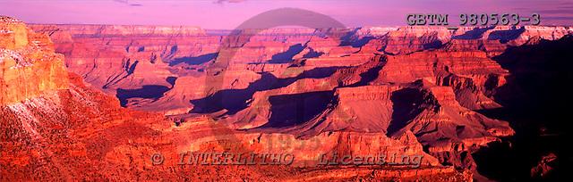 Tom Mackie, LANDSCAPES, panoramic, photos, Grand Canyon National Park, Arizona, USA, GBTM980563-3,#L#