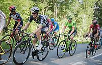Simon Clarke (AUS/Cannondale-Drapac) in the breakaway<br /> <br /> stage 7: Aoste &gt; Alpe d'Huez (168km)<br /> 69th Crit&eacute;rium du Dauphin&eacute; 2017