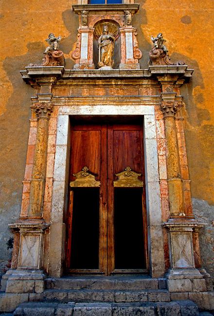 Saint Catherine church; Taormina, Messina Province, Sicily, Italy, Europe.