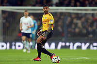 Joss Labadie of Newport County during Tottenham Hotspur vs Newport County, Emirates FA Cup Football at Wembley Stadium on 7th February 2018