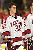 Pier-Olivier Michaud (Harvard - 39) - The Boston University Terriers defeated the Harvard University Crimson 6-5 in overtime on Tuesday, November 24, 2009, at Bright Hockey Center in Cambridge, Massachusetts.