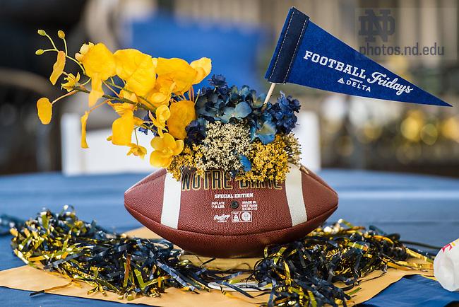 Oct. 16, 2015; Alumni Association 'Football Fridays at the Eck' event. (Photo by Matt Cashore/University of Notre Dame)