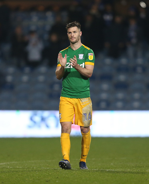 Preston North End's Andrew Hughes<br /> <br /> Photographer Rob Newell/CameraSport<br /> <br /> The EFL Sky Bet Championship - Queens Park Rangers v Preston North End - Saturday 19 January 2019 - Loftus Road - London<br /> <br /> World Copyright &copy; 2019 CameraSport. All rights reserved. 43 Linden Ave. Countesthorpe. Leicester. England. LE8 5PG - Tel: +44 (0) 116 277 4147 - admin@camerasport.com - www.camerasport.com