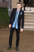 George Barnett arrives for the Burberry Prosum menswear AW14 as part of London Collections Men, Kensington Gardens, London.08/01/2014 Picture by: Steve Vas / Featureflash