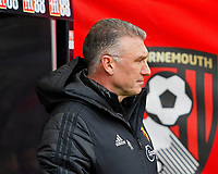 Watford managerNigel Pearson during AFC Bournemouth vs Watford, Premier League Football at the Vitality Stadium on 12th January 2020