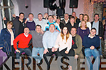David Charles, Stacks Villas, Tralee (seated centre) had a cracking time celebrating his 50th birthday last Saturday night in the Greyhound bar, Tralee surrounded by many friends and family.