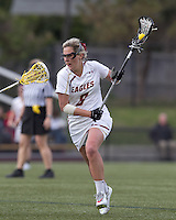 Boston College defeated University of Vermont, 15-9, at Newton Campus Field, April 4, 2012.