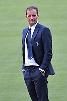 Massimiliano Allegri <br /> Roma 12-08-2017 Stadio Olimpico <br /> Ricognizione Juventus <br /> Foto Andrea Staccioli Insidefoto