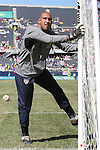 09 September 2007: The United States' Tim Howard. The Brazil Men's National Team defeated the United States Men's National Team 4-2 at Soldier Field in Chicago, Illinois in an international friendly labeled the Clash of Champions.