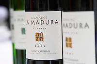 Domaine la Madura Classic St Chinian. Languedoc. France. Europe. Bottle.