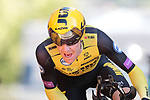 Steven Kruijswijk (NED) Team Jumbo-Visma on the 17% climb during Stage 13 of the 2019 Tour de France an individual time trial running 27.2km from Pau to Pau, France. 19th July 2019.<br /> Picture: Colin Flockton | Cyclefile<br /> All photos usage must carry mandatory copyright credit (© Cyclefile | Colin Flockton)