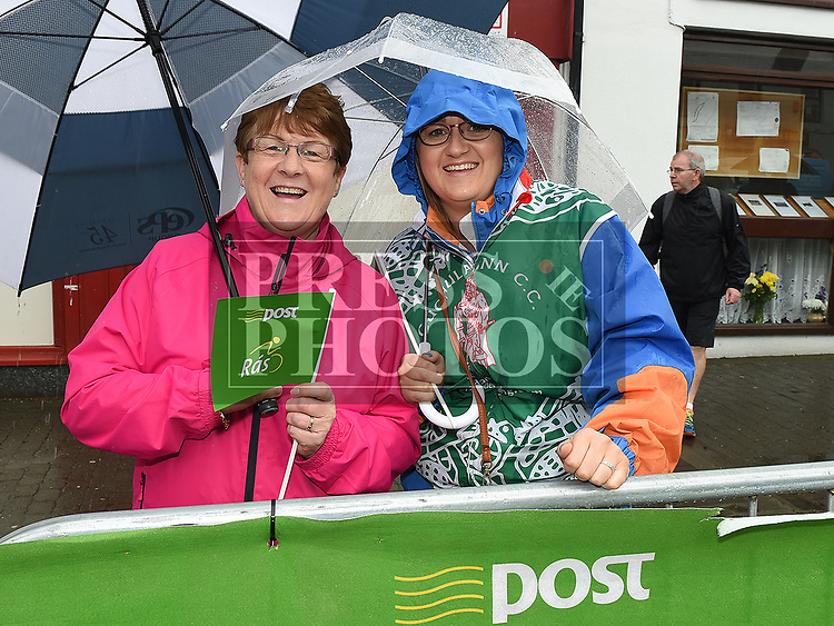 Rosemary and Debbie Curtis at Stage seven of An Post Rás 2017 in Ardee. Photo:Colin Bell/pressphotos.ie