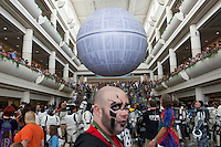 ORLANDO, FLORIDA - AUG 25: Star Wars fans take part in the 6th bi-annual Star Wars Celebration at The Orange County Convention Center on Saturday, August 25, 2012 in Orlando, Florida. (Photo by Landon Nordeman)