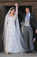 Prince Felix Of Luxembourg and Claire Lademacher Religious Wedding - France