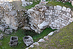 Israel, Jerusalem, The Pool of Bethesda, the baths<br />