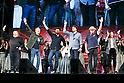(L to R) Apple co-founder Steve Wozniak, actors Mads Mikkelsen, Karl Urban, Nathan Fillion, Michael Rooker and Karen Fukuhara, attend the Grand Finale event for the Tokyo Comic Con 2017 at Makuhari Messe International Exhibition Hall on December 3, 2017, Tokyo, Japan. This is the second year that San Diego Comic-Con International held the event in Japan. Tokyo Comic Con runs from December 1 to 3. (Photo by Rodrigo Reyes Marin/AFLO)