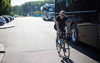 as a cycling affectionado himself, Team SKY principal Sir Dave Brailsford tries to put in a ride from time to time whilst being on the road <br /> <br /> stage 19: Medina del Campo - Avila (186km)<br /> 2015 Vuelta &agrave; Espana