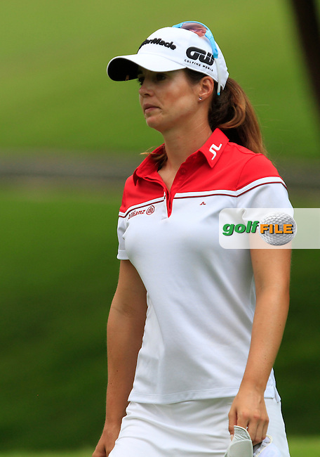 Beatriz Recari (ESP) on the 9th fairway during Round 2 of the HSBC Women's Champions at the Sentosa Golf Club, The Serapong Course in Singapore on Friday 6th March 2015.<br /> Picture:  Thos Caffrey / www.golffile.ie