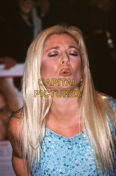 VANESSA FELTZ.Ref: 10778.blowing kiss, hair extensions, headshot, portrait.*RAW SCAN - photo will be adjusted for publication*.www.capitalpictures.com.sales@capitalpictures.com.© Capital Pictures