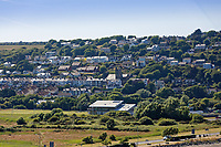 Goodwick in Fishguard, Pembrokeshire, Wales, UK