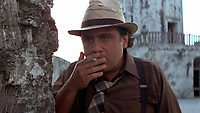 Romancing the Stone (1984) <br /> Danny DeVito<br /> *Filmstill - Editorial Use Only*<br /> CAP/KFS<br /> Image supplied by Capital Pictures