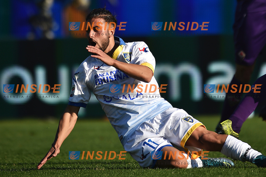 Daniele Verde Frosinone <br /> Firenze 01-11-2015 Stadio Artemio Franchi Football Calcio Serie A 2015/2016 Fiorentina - Frosinone Foto Andrea Staccioli / Insidefoto
