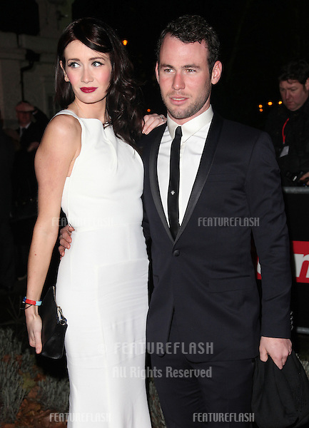 Mark Cavendish and Peta Todd arriving for The Sun Military Awards, at The Imperial War Museum, London. 06/12/2012 Picture by: Alexandra Glen / Featureflash