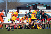 Heartland Championship rugby match between Wairarapa Bush and Thames Valley at Memorial Park in Masterton, New Zealand on Saturday, 1 September 2018. Photo: Dave Lintott / lintottphoto.co.nz