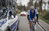 A cheerful Marcel Kittel (GER/Quick Step Floors) rolling towards his record 5th Scheldeprijs win<br /> <br /> 105th Scheldeprijs 2017 (1.HC)<br /> 1 Day Race: Mol &rsaquo; Schoten (BEL/202km)