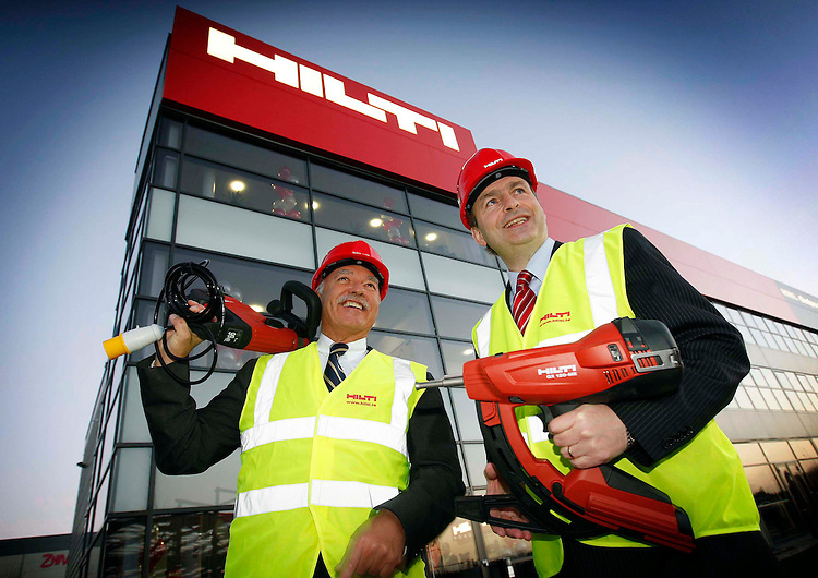 Hilti Dublin Opening Announcement..Michael Hilti of the Hilti Group and Micheal Martin T.D. pictured at the official opening of the new Hilti Ireland headquarters in North Dublin.