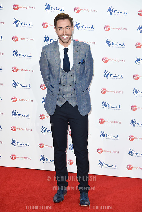 Ross Adams at the Virgin Money Giving Mind Media Awards at the Odeon Leicester Square, London, UK. <br /> 13 November  2017<br /> Picture: Steve Vas/Featureflash/SilverHub 0208 004 5359 sales@silverhubmedia.com
