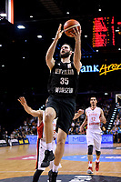New Zealand Tall Blacks&rsquo; Alex Pledger in action during the FIBA World Cup Basketball Qualifier - NZ Tall Blacks v Syria at TSB Bank Arena, Wellington, New Zealand on Sunday 2 2018. <br /> Photo by Masanori Udagawa. <br /> www.photowellington.photoshelter.com