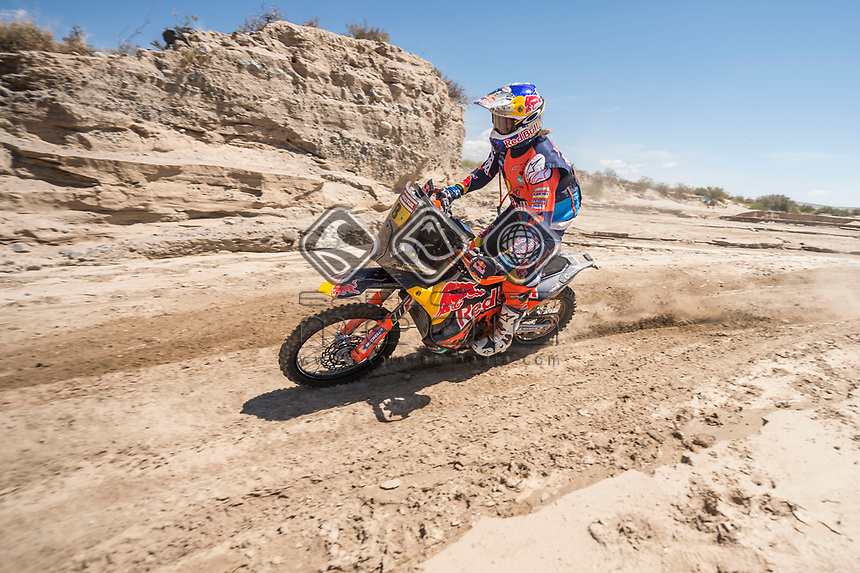 BELEN,ARGENTINA,16.JAN.18 - MOTORSPORTS, RALLY - Rally Dakar 2018,  stage 10, Salta - Belen. Image shows Toby Price (AUS/ KTM). Photo: Sport the library / Red Bull Content Pool/ Marcelo Maragni - ATTENTION - FREE OF CHARGE FOR EDITORIAL USE