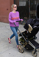 www.acepixs.com<br /> <br /> January 25 2017, New York City<br /> <br /> Socialite Nicky Hilton Rothschild wears her 'Wednesday' sweater as she takes her daughter Lily Grace Victoria Rothschild for a walk around her East Village neighborhood on January 25 2017 in New York City<br /> <br /> By Line: Curtis Means/ACE Pictures<br /> <br /> <br /> ACE Pictures Inc<br /> Tel: 6467670430<br /> Email: info@acepixs.com<br /> www.acepixs.com