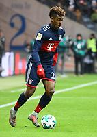 Kingsley Coman (FC Bayern Muenchen) - 09.12.2017: Eintracht Frankfurt vs. FC Bayern München, Commerzbank Arena