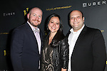 Shane Marshall Brown, Marissa Kaimm and Isaac Hurwitz attending the Broadway Opening Night Performance After Party for 'The Performers' at E-Space in New York City on 11/14/2012