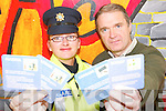 Awareness message: At the launch of the 25,000 KDYS Community Drugs Initiative drugs awareness beer mats on Wednesday were Garda Raelleen Bell and Ger Lowe (Community Drugs Initiative).   Copyright Kerry's Eye 2008
