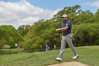 Graeme McDowell (NIR) heads down 2 during day 1 of the Valero Texas Open, at the TPC San Antonio Oaks Course, San Antonio, Texas, USA. 4/4/2019.<br /> Picture: Golffile | Ken Murray<br /> <br /> <br /> All photo usage must carry mandatory copyright credit (© Golffile | Ken Murray)