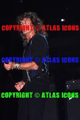 Robert Plant: .Performs at Madison Square Garden in New York, 1980's-1998:.Photo Credit: Eddie Malluk/Atlas Icons.com..